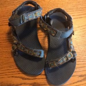 Teva Velcro Strap Sandals